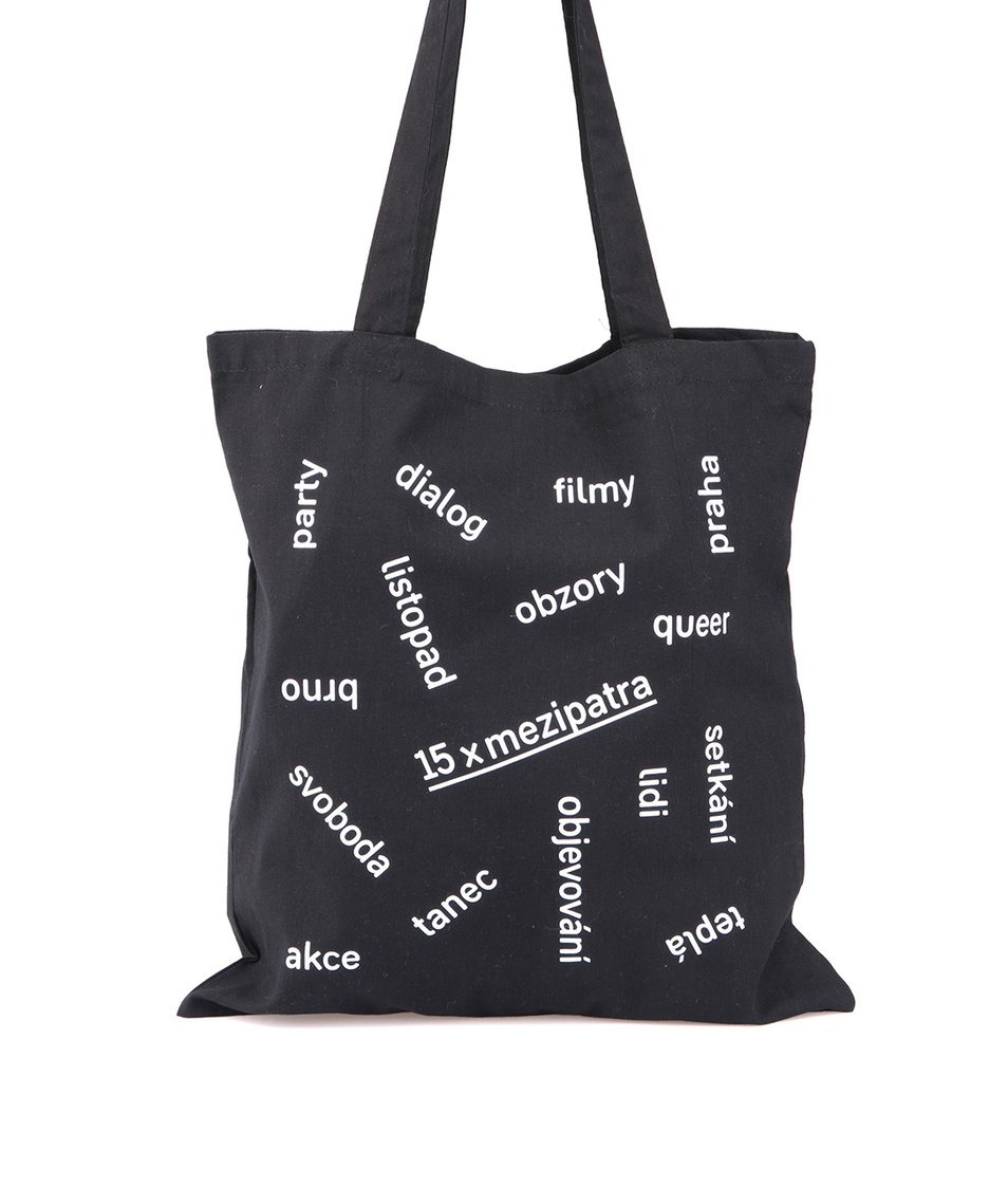 """""""Dobrá"""" černá unisex taška pro Mezipatra"""