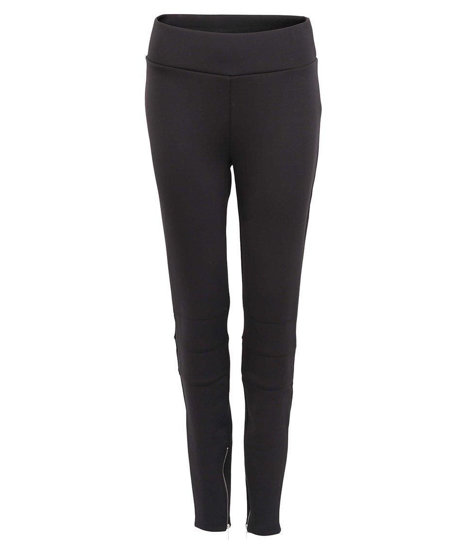Černé legínové kalhoty Vero Moda Scuba