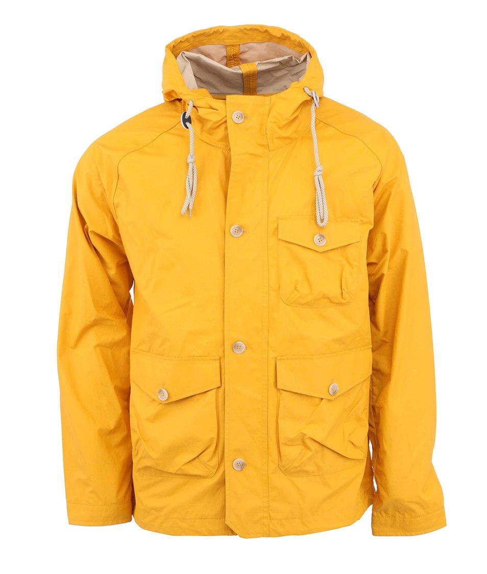 Hořčicová bunda s kapucí HYMN Donald