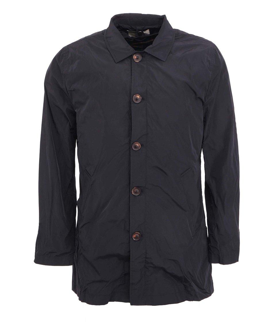 Tmavě modrý kabát a vesta 2v1 HYMN Swayze