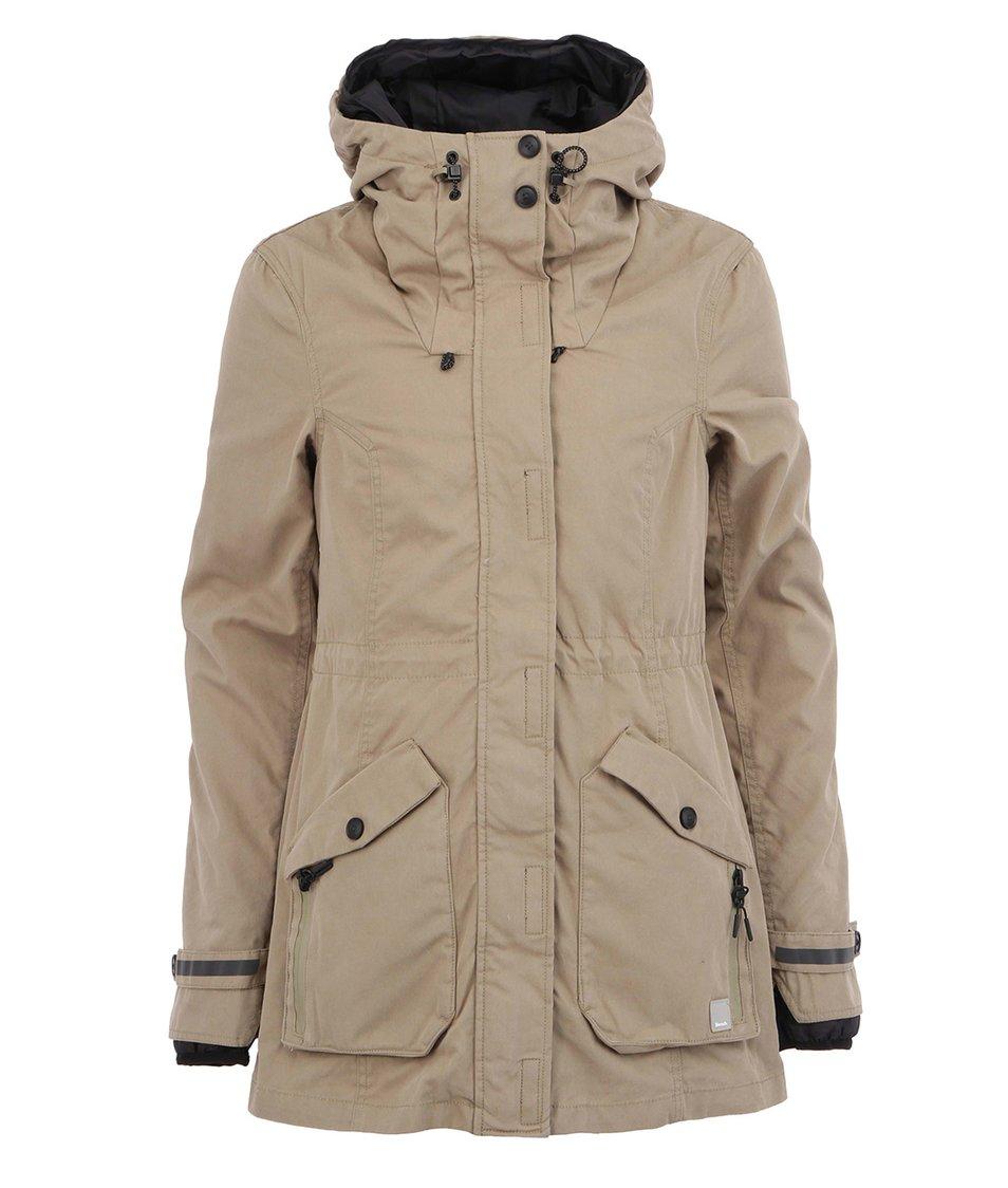 Khaki dámský zimní kabát Bench Kufen