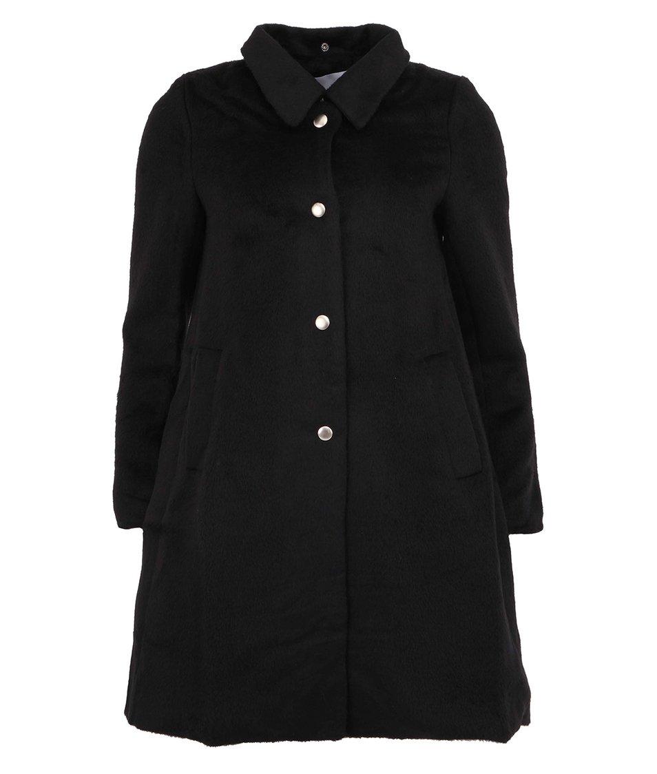 Černý dámský elegantní kabát Kling Nadine