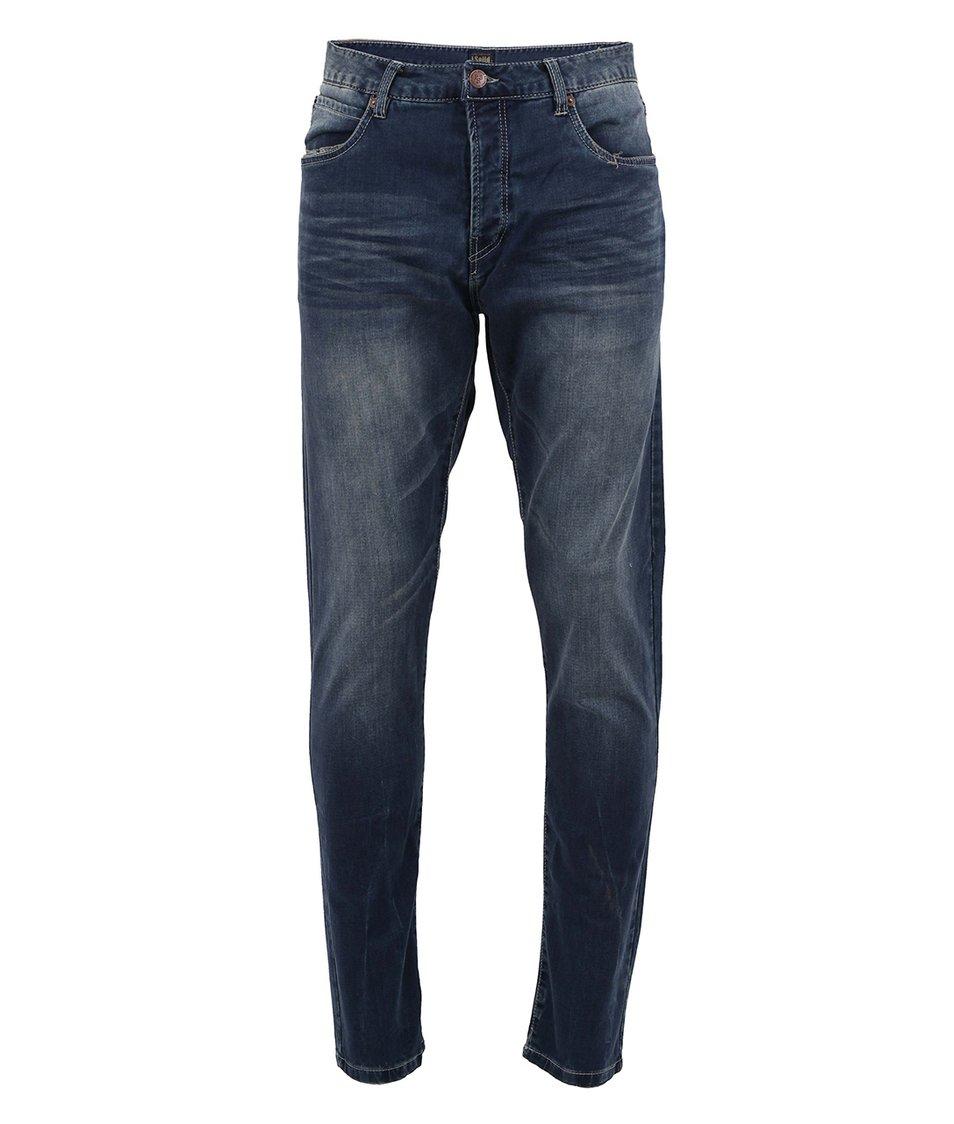 Modré džíny s knoflíkovým zapínáním !Solid  Frank