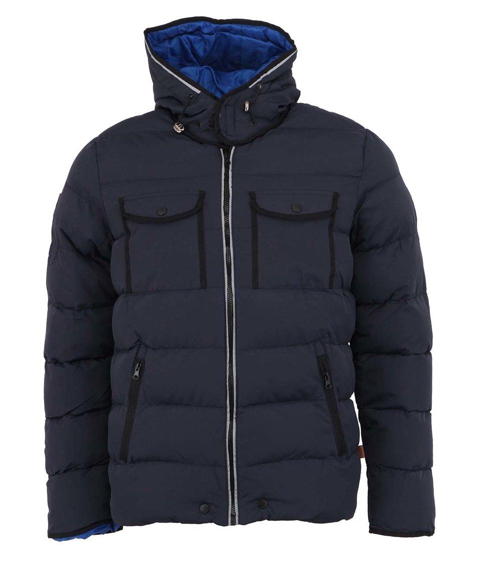 Tmavě modrá pánská zimní bunda Bellfield Radon