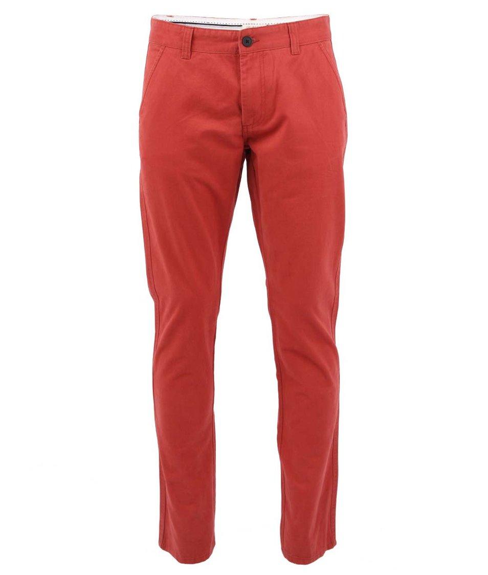Červené kalhoty Selected Three Paris