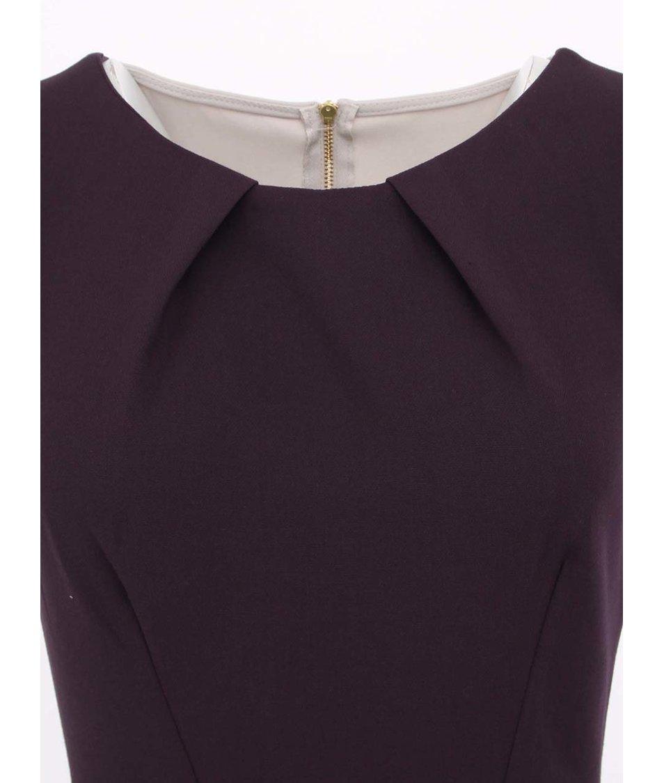 Tmavě fialové šaty Closet