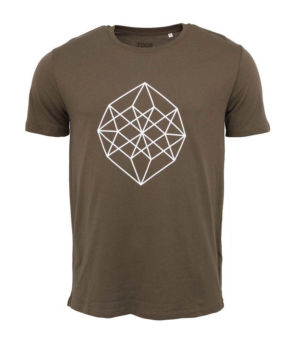 Khaki pánské triko ZOOT Originál Diamant