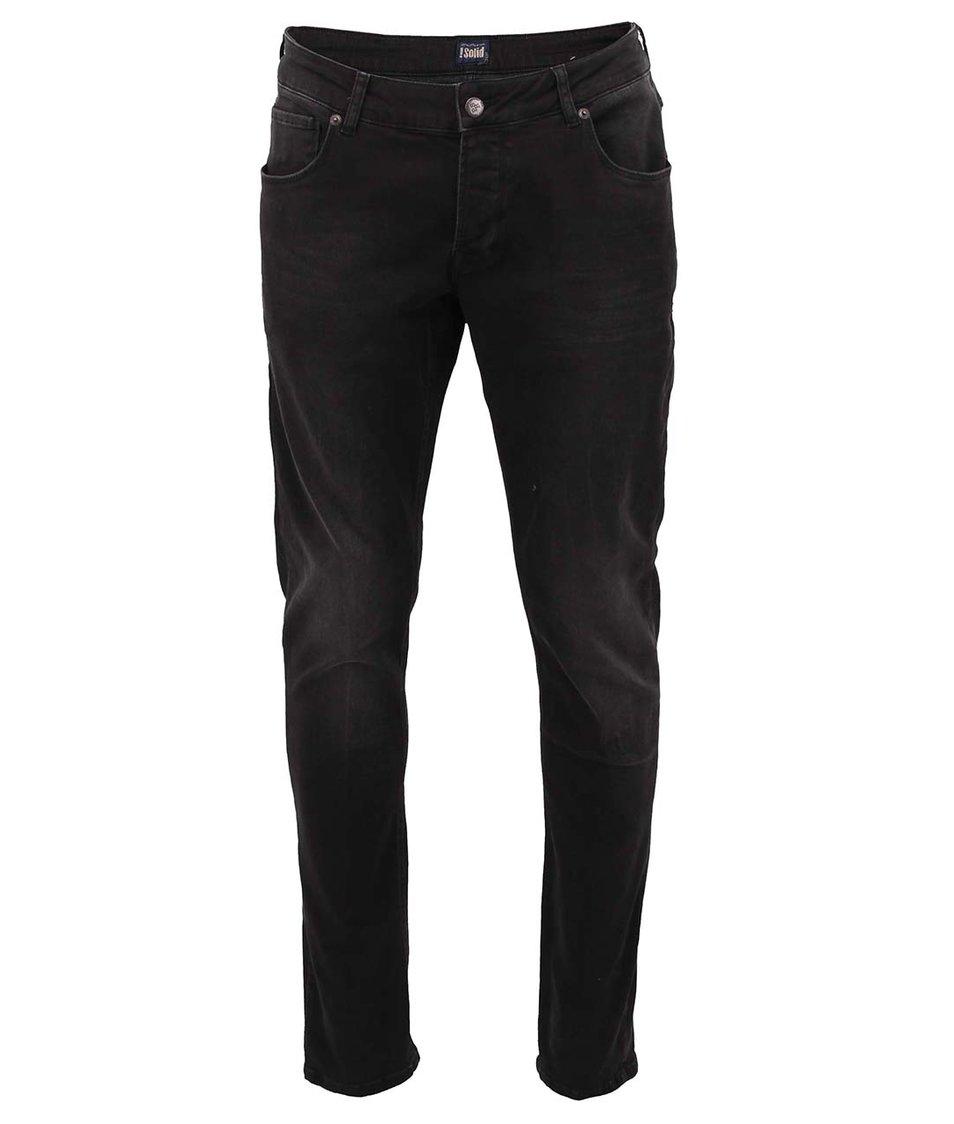 Černé slim džíny !Solid Joy Stretch