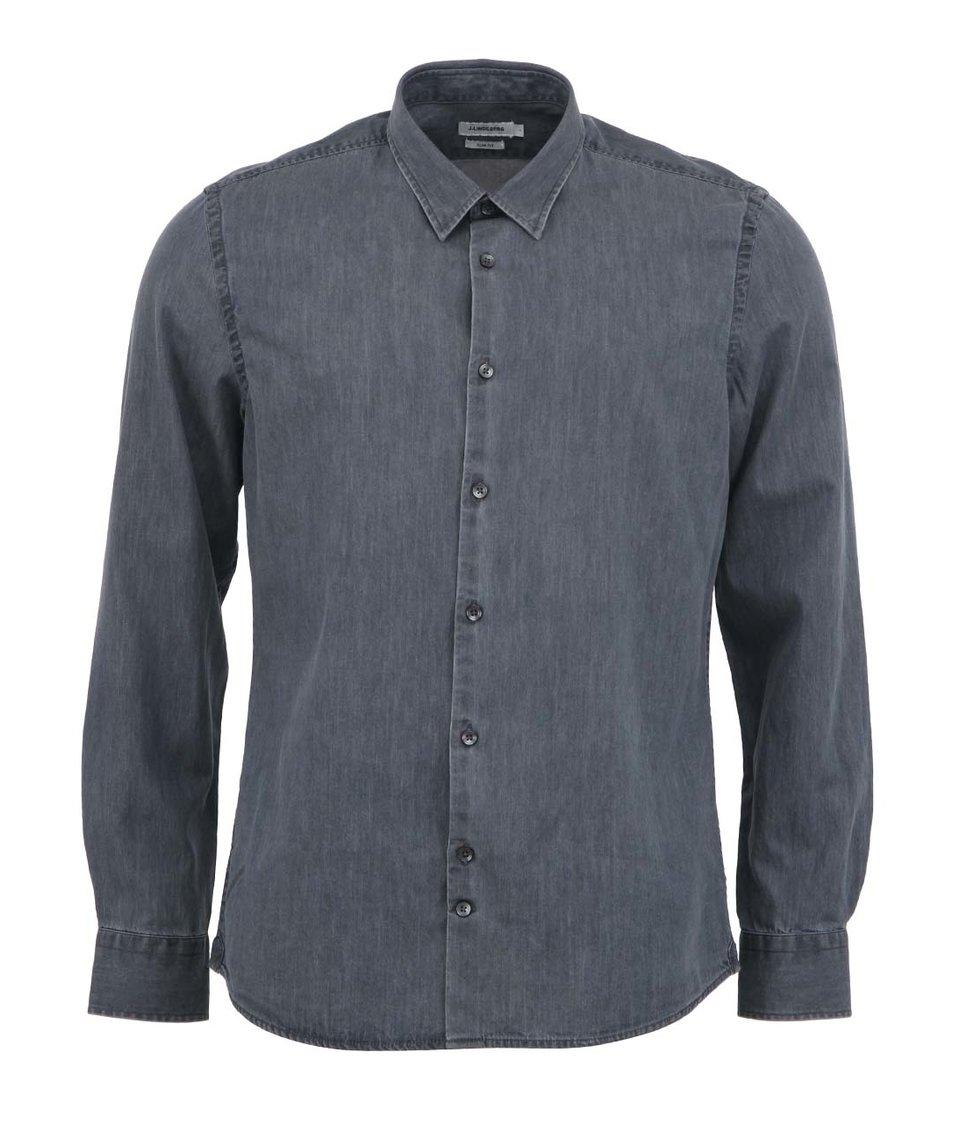 Šedá džínová košile J.Lindeberg Chambree