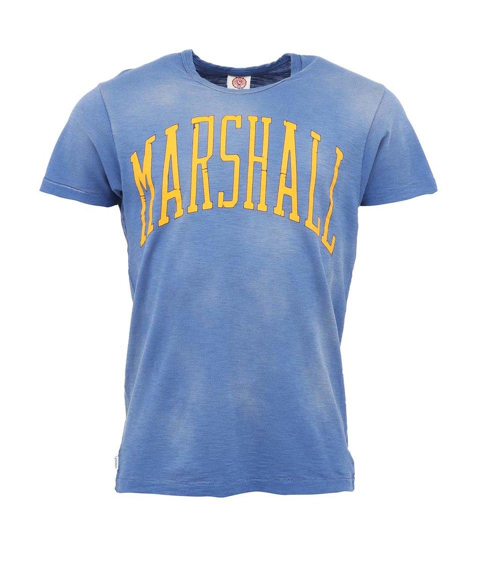 Modré pánské tričko Franklin & Marshall