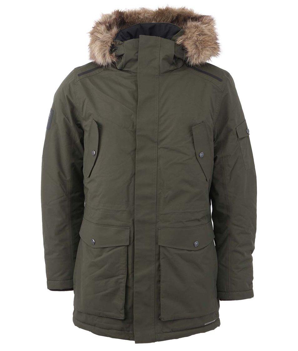 Tmavě zelená zimní bunda Jack & Jones Meyland
