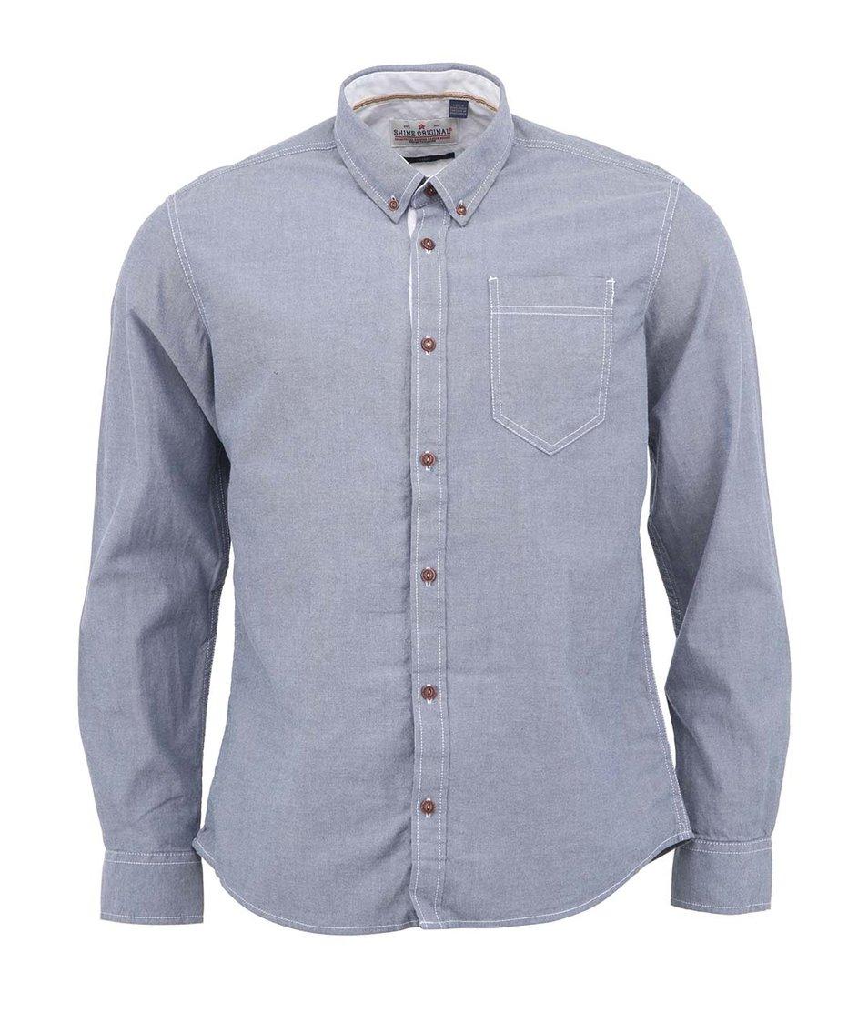 Šedomodrá košile Shine Original