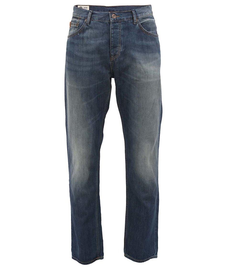 Modré vintage slim džíny Ben Sherman 6 Month