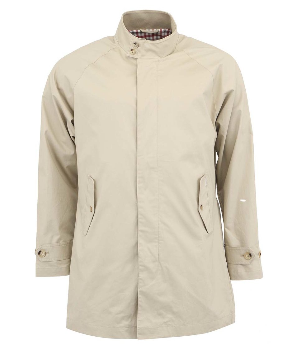 Béžový pánský kabát Ben Sherman