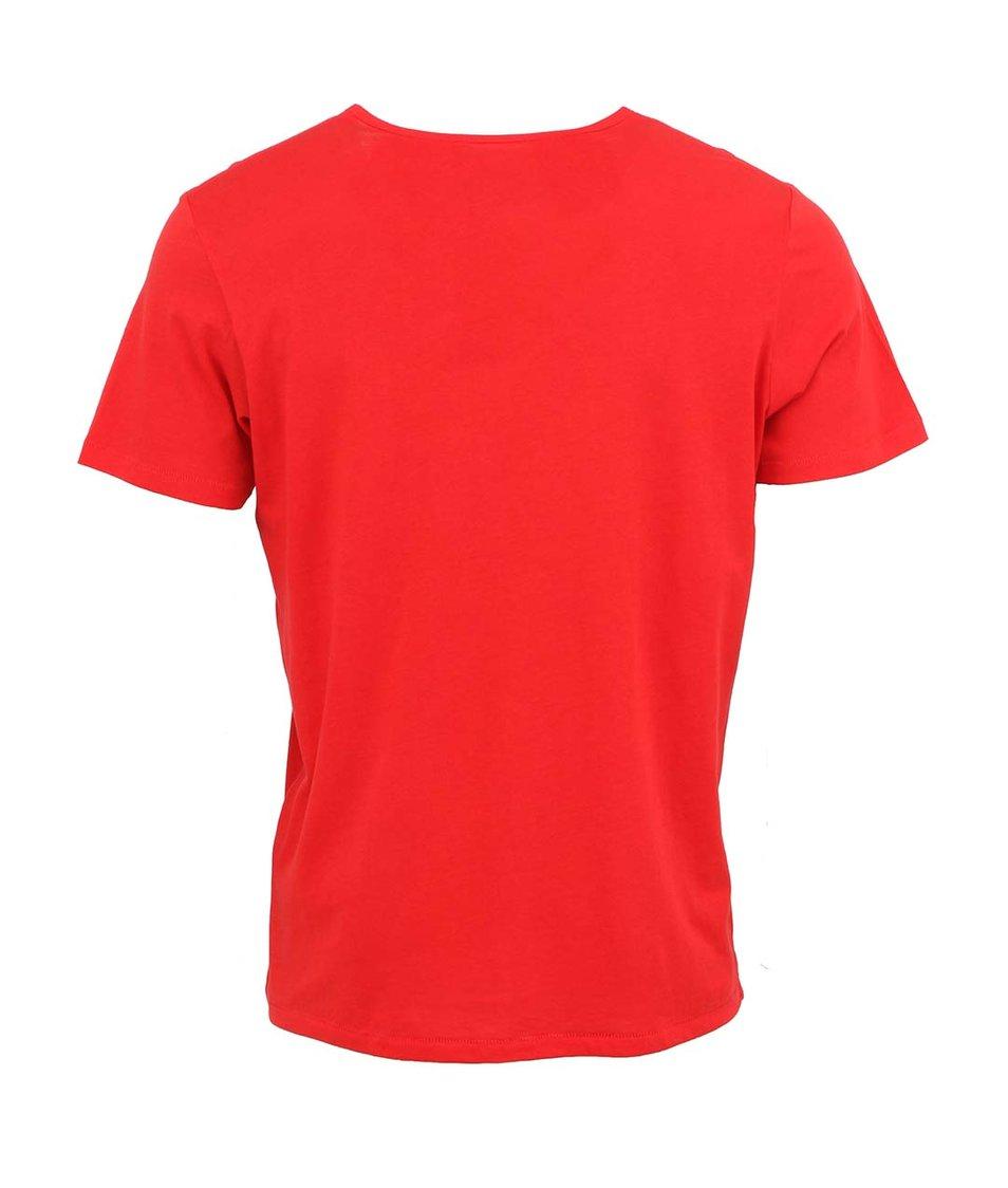 Červené pánské triko Stanley & Stella Adores