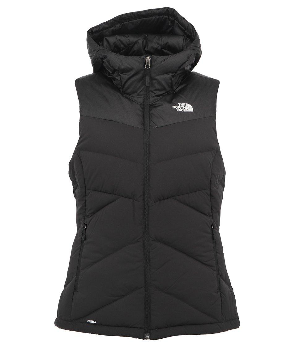 Černá dámská vesta s kapucí The North Face Kailash
