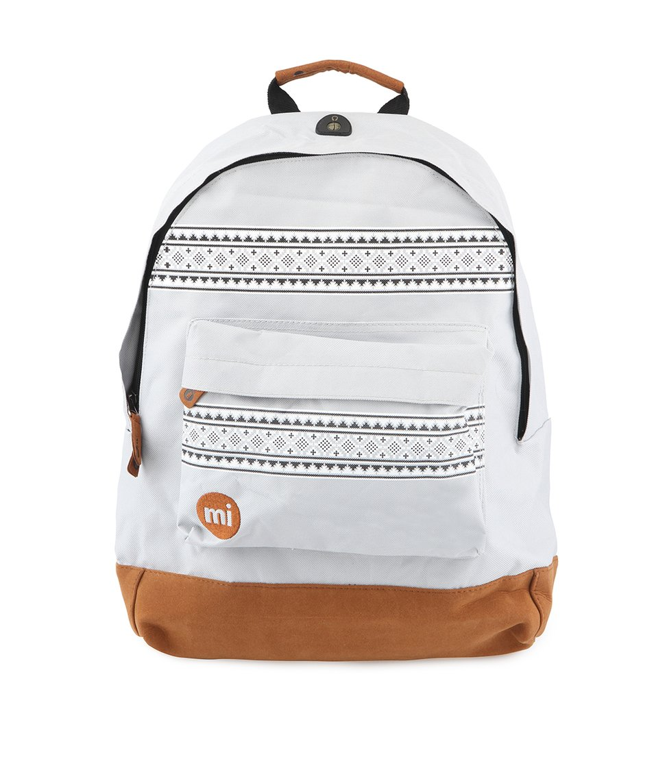 Šedý unisex batoh se vzorem Mi-Pac Nordic