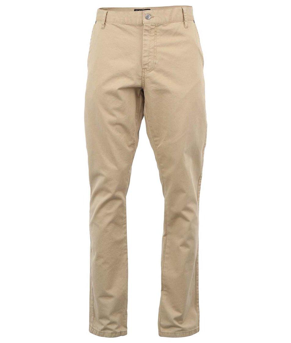 Hnědé kalhoty !Solid Mak