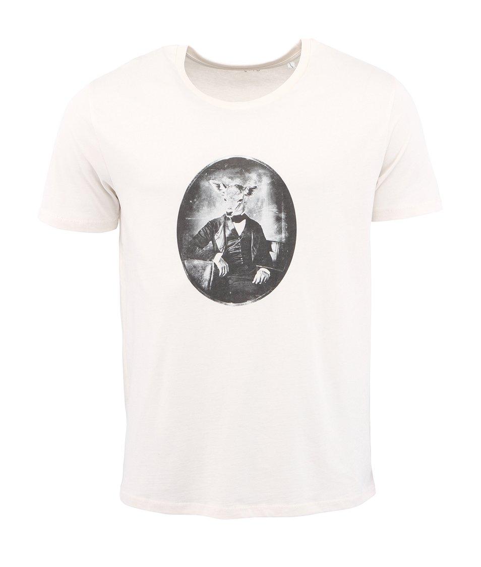 Krémové pánské triko ZOOT Originál Kolouch