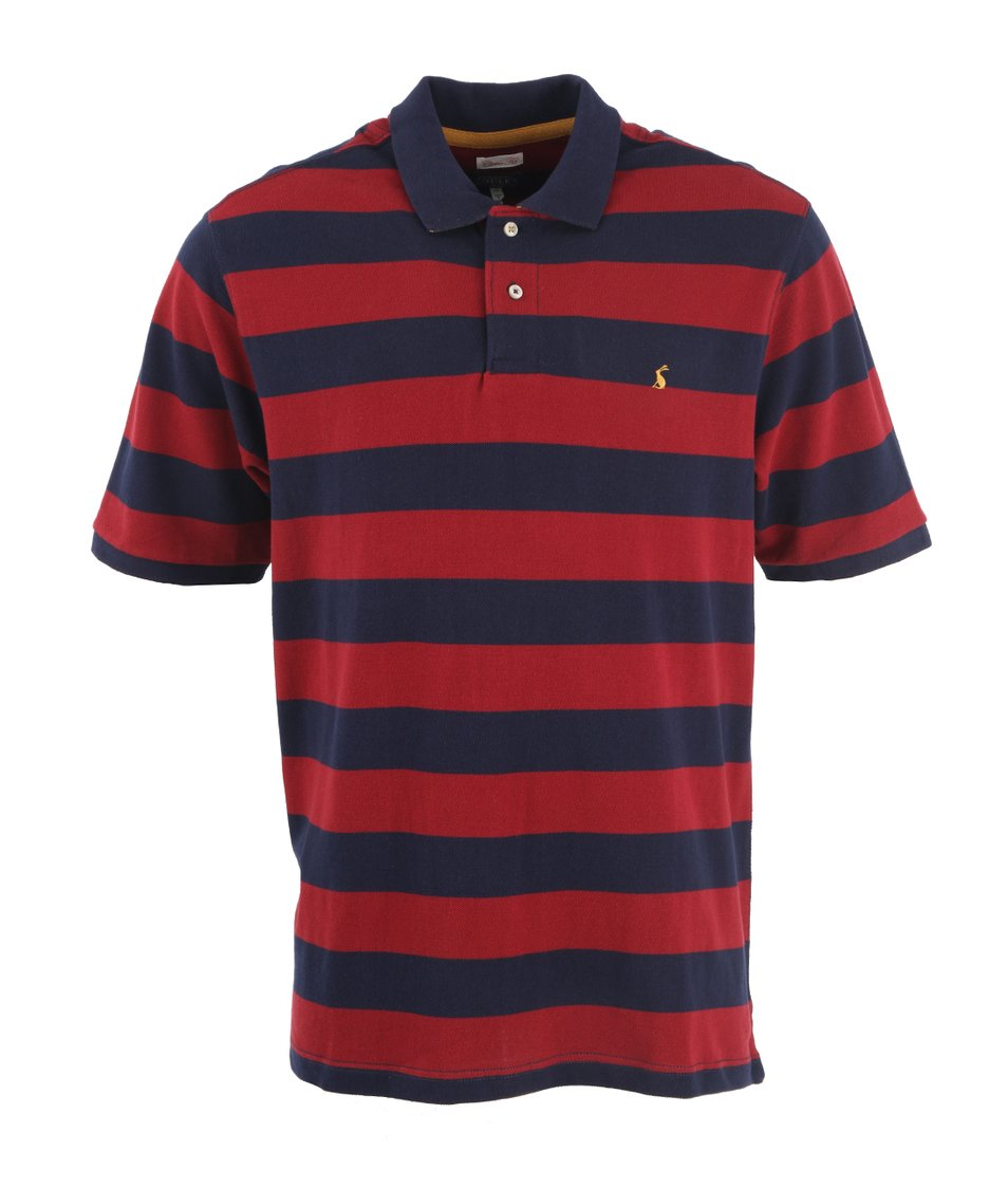 Modro-červené pánské pruhované polo triko Tom Joule Filbert