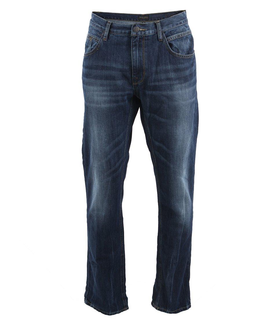 Modré džíny se sepraným efektem Casual Friday by Blend