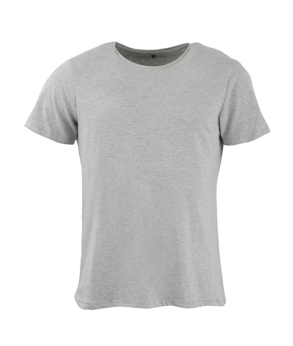 Světle šedé triko Casual Friday by Blend