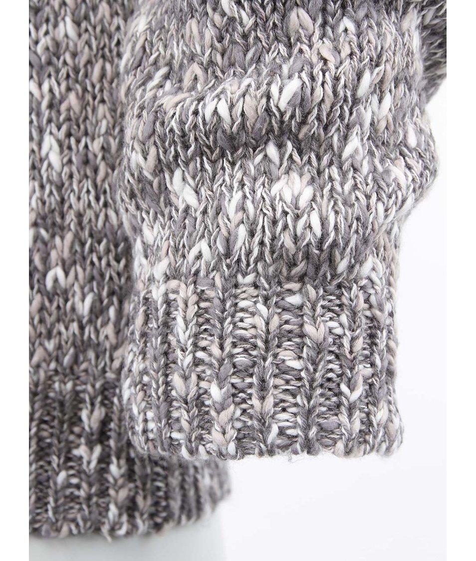 Šedý pletený pánský svetr Cheap Monday Evan Knit