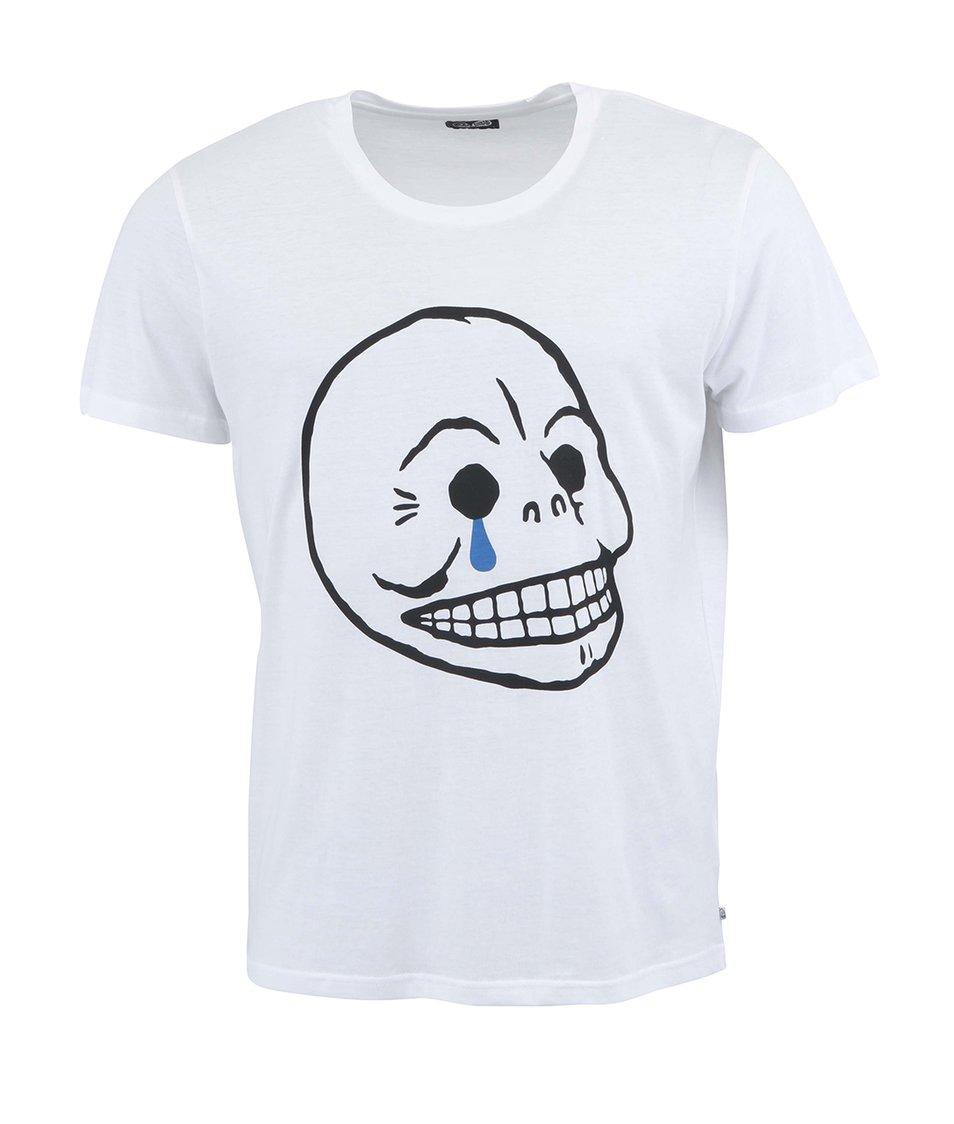 Bílé pánské triko Cheap Monday Bruce