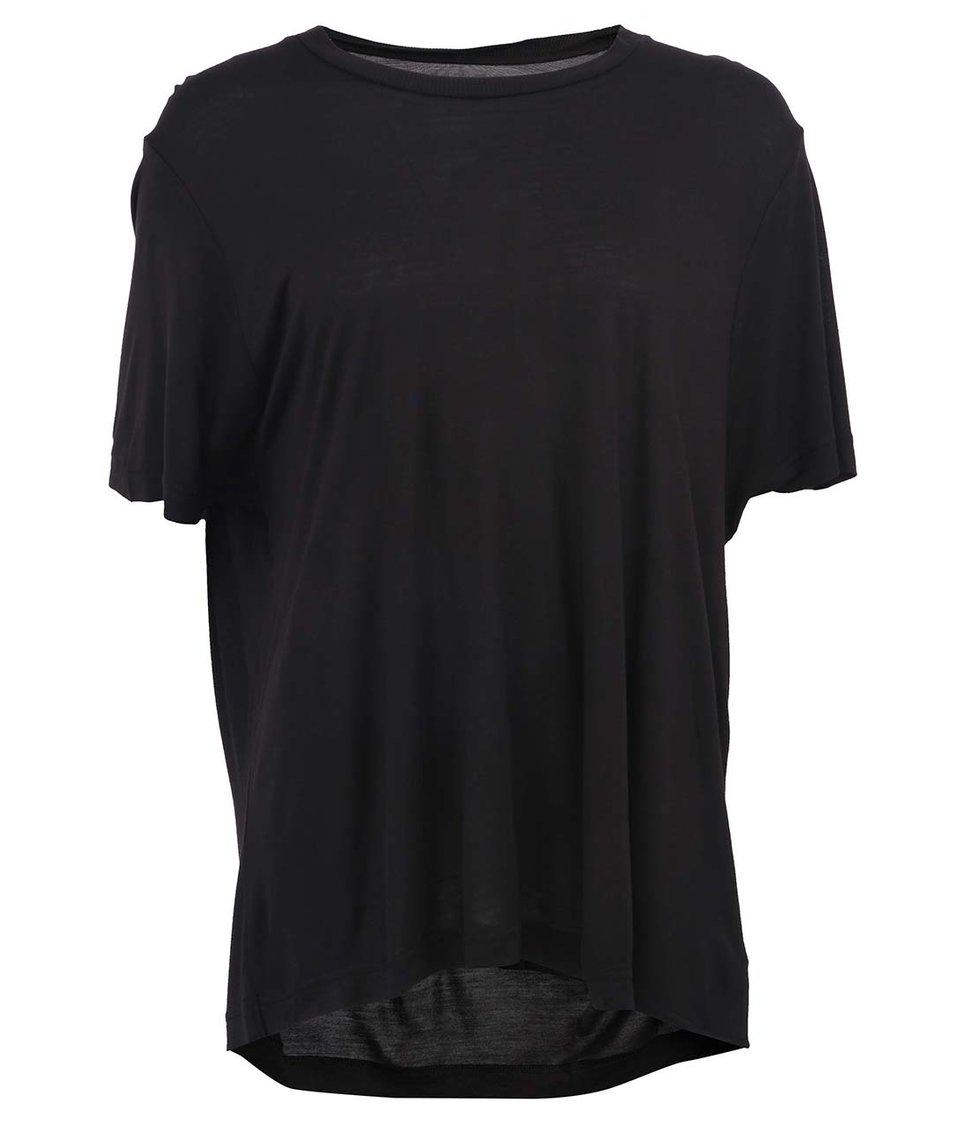 Černé dámské volnější triko Cheap Monday Big