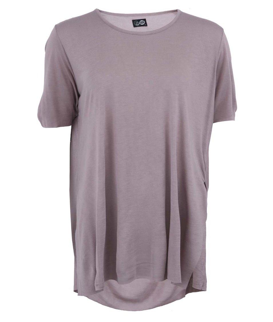 Fialové dámské volnější tričko Cheap Monday Slow