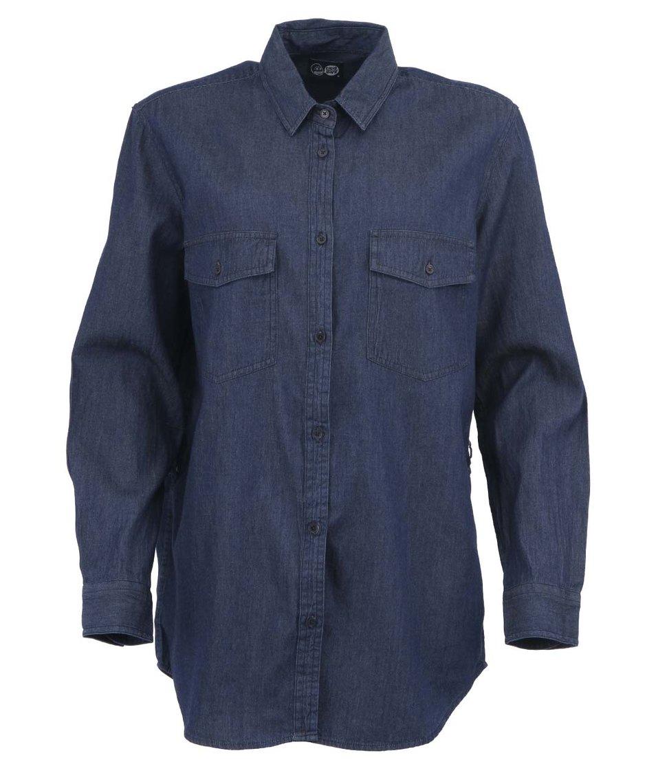 Dámská tmavě modrá košile Cheap Monday Mono