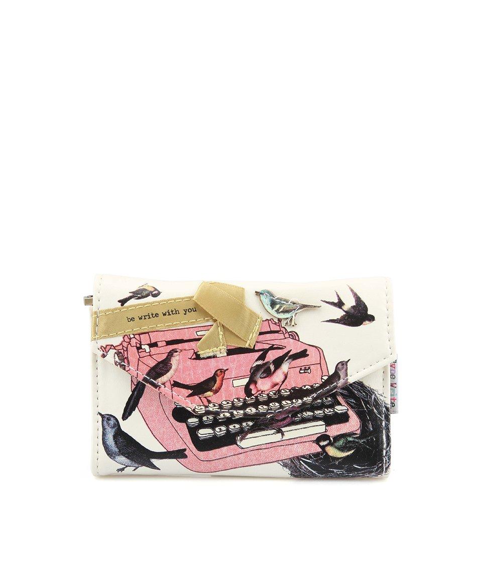 Peněženka s psacím strojem Disaster Type Write