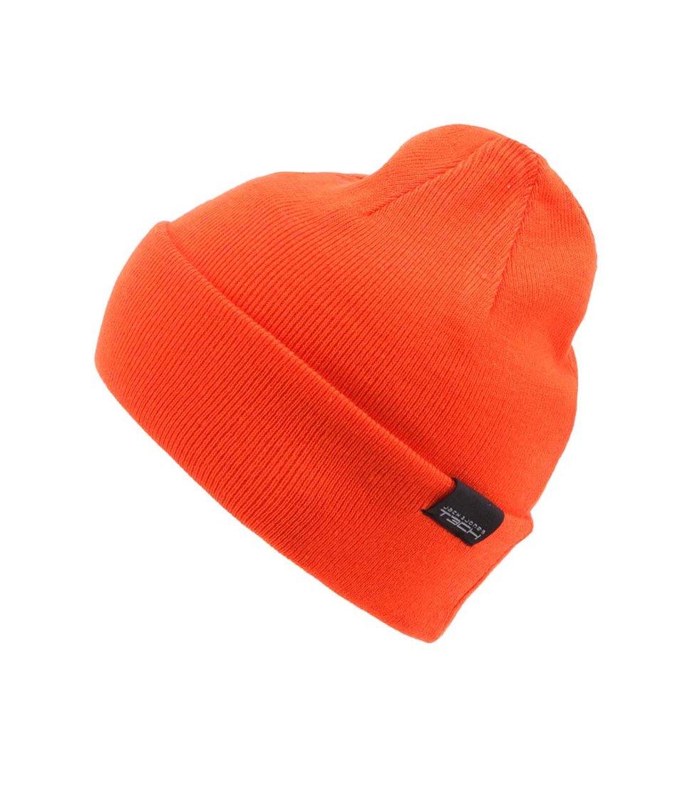 Oranžový kulich Jack & Jones Stan