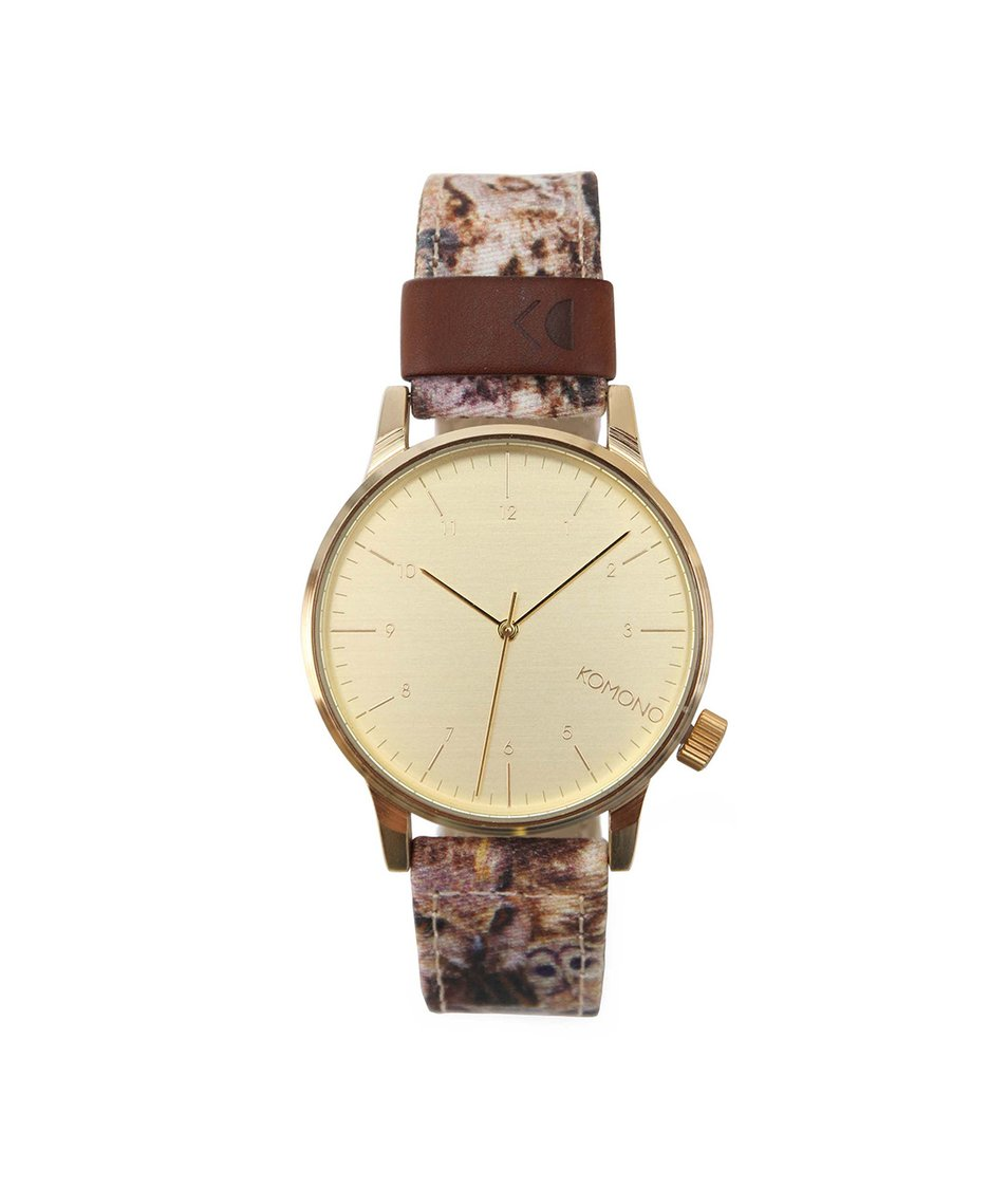 Pánské hodinky Komono Winston Print Owls
