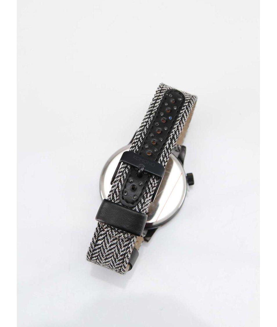 Pánské hodinky Komono Winston Herringbone
