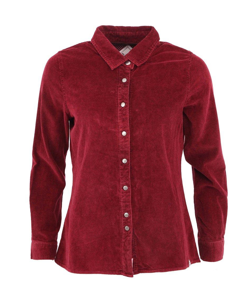 Vínová dámská košile Bellfield KASHIN