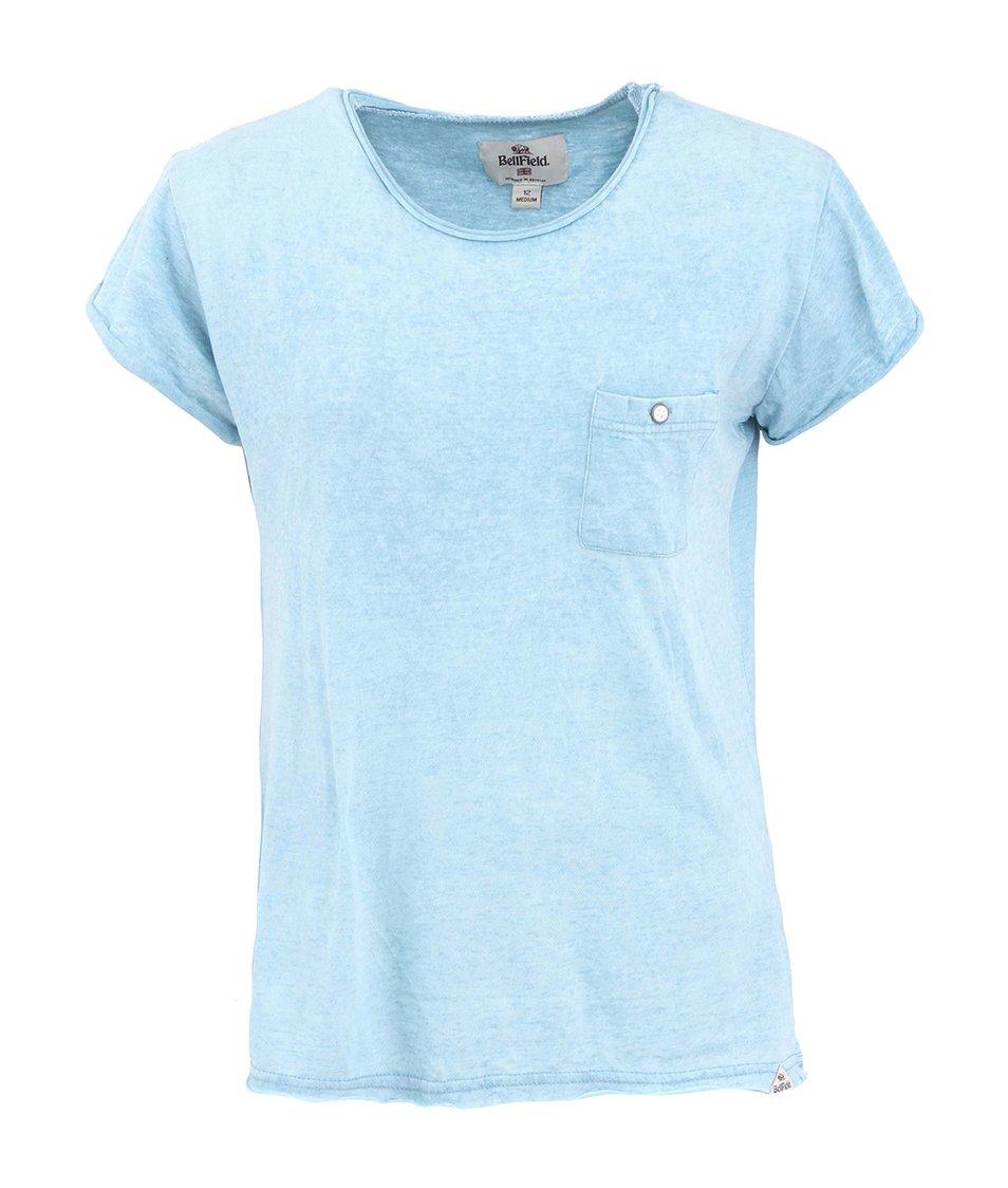 Světle modré dámské triko Bellfield SOBINKA