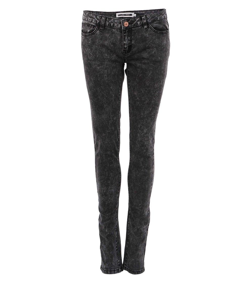 Černé plísňové džíny Noisy May Eve