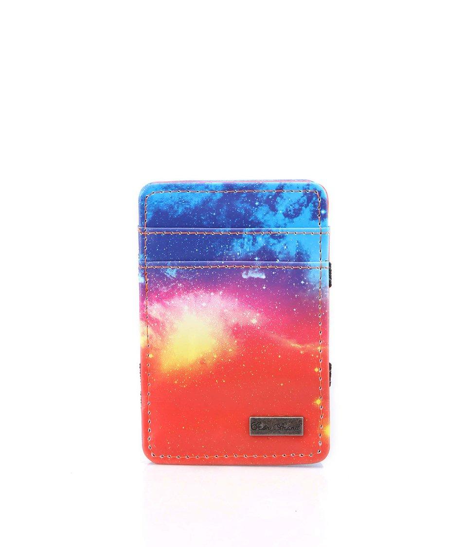 Barevná kapesní peněženka Icon Brand Hologram Skies