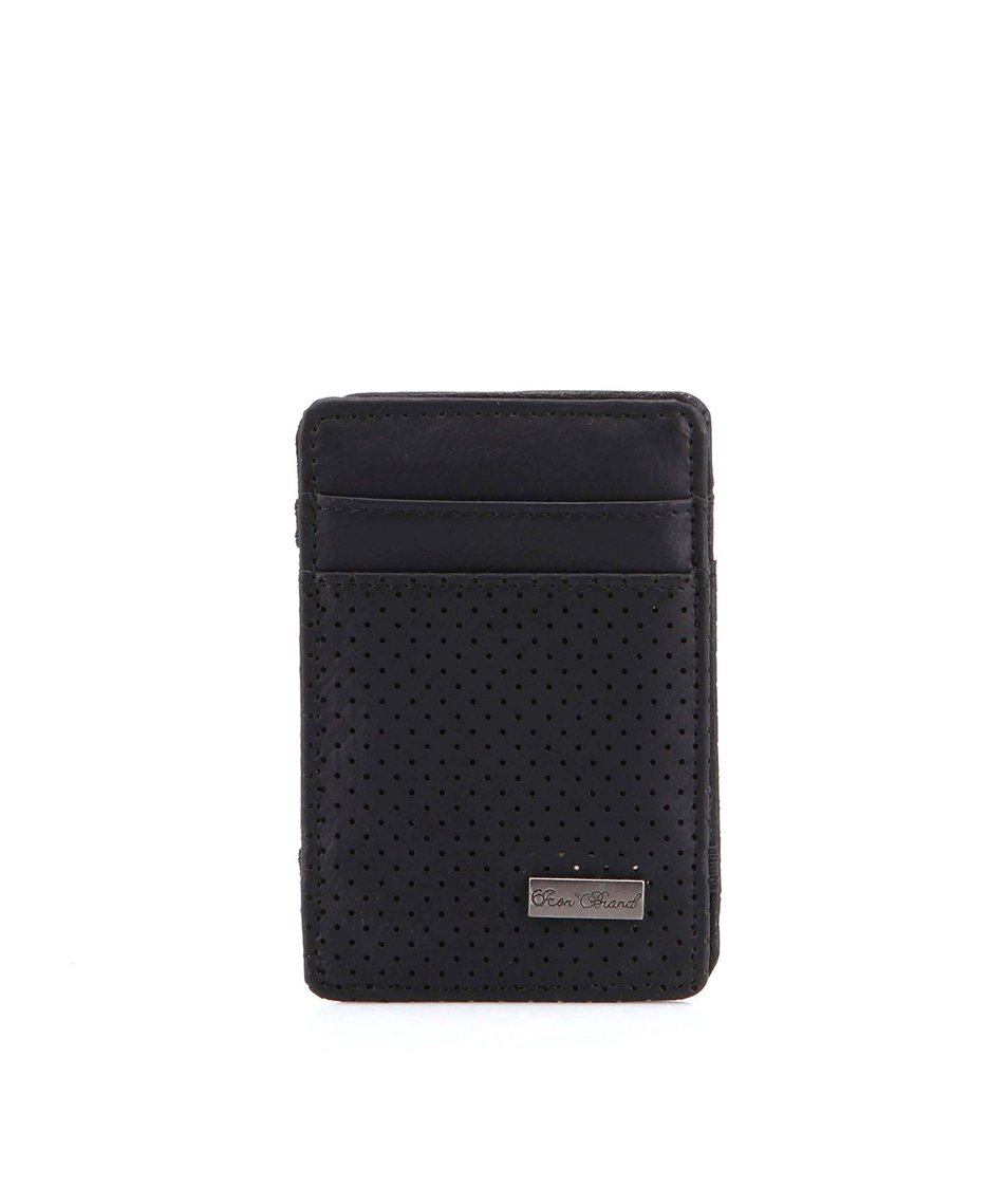 Černá kapesní peněženka Icon Brand All Black