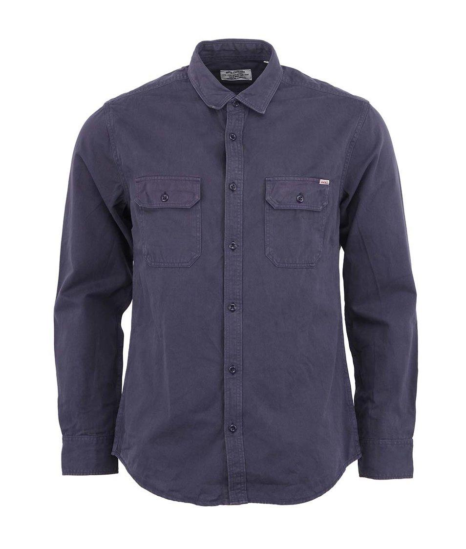 Tmavě modrá košile Jack & Jones Vibes