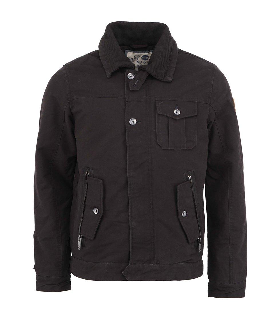 Černá bunda !Solid Kodjo
