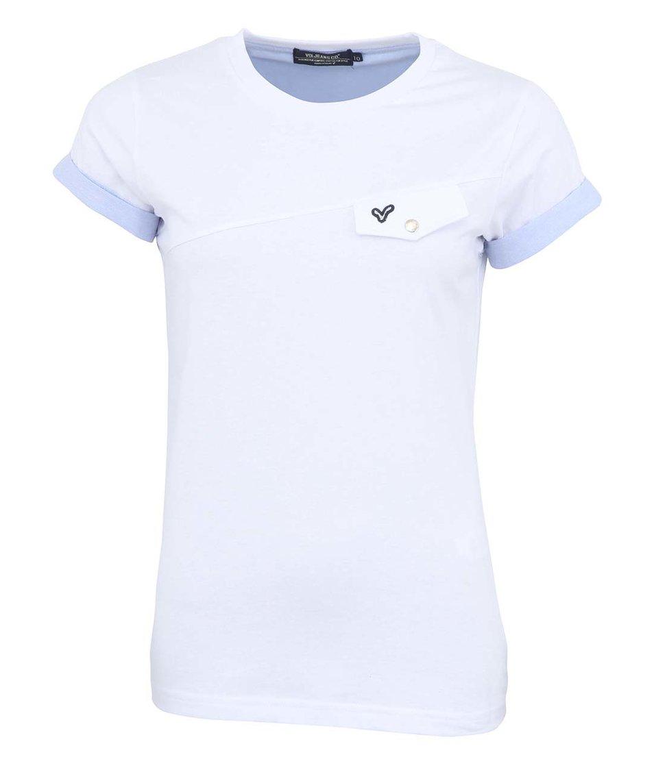Bílé dámské triko Voi Jeans Lady Avon