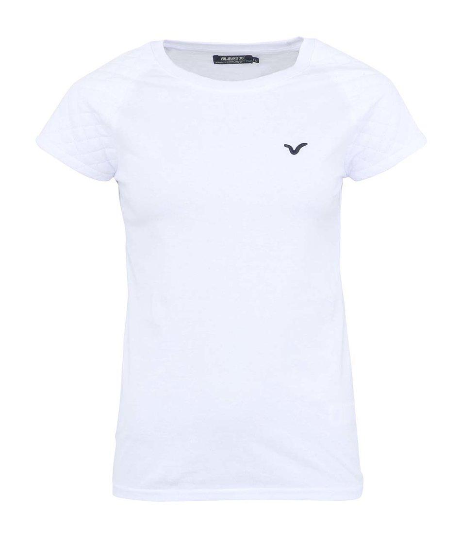 Bílé dámské tričko Voi Jeans Lady Arc