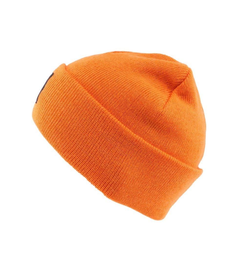 Oranžová pánská čepice WeSC Pancho