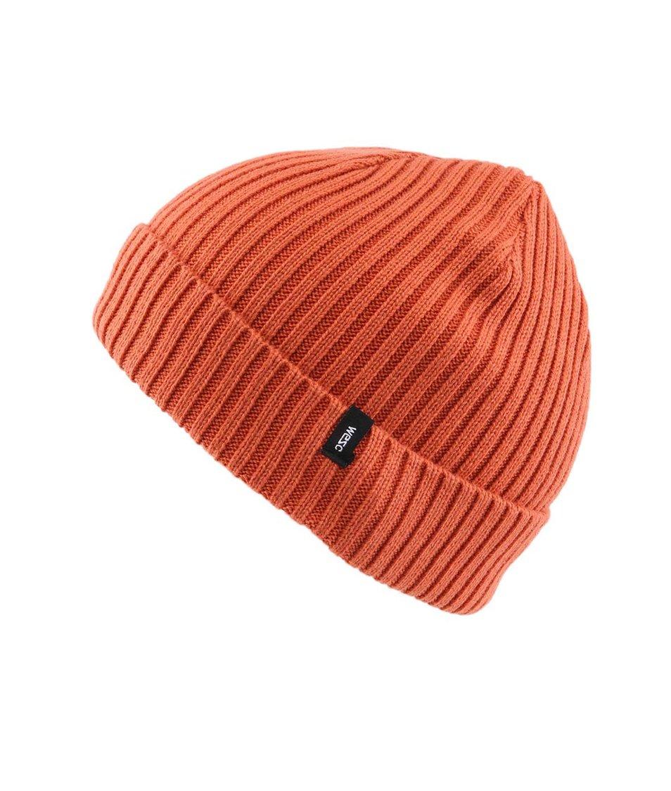 Oranžová pánská čepice WeSC Cormac
