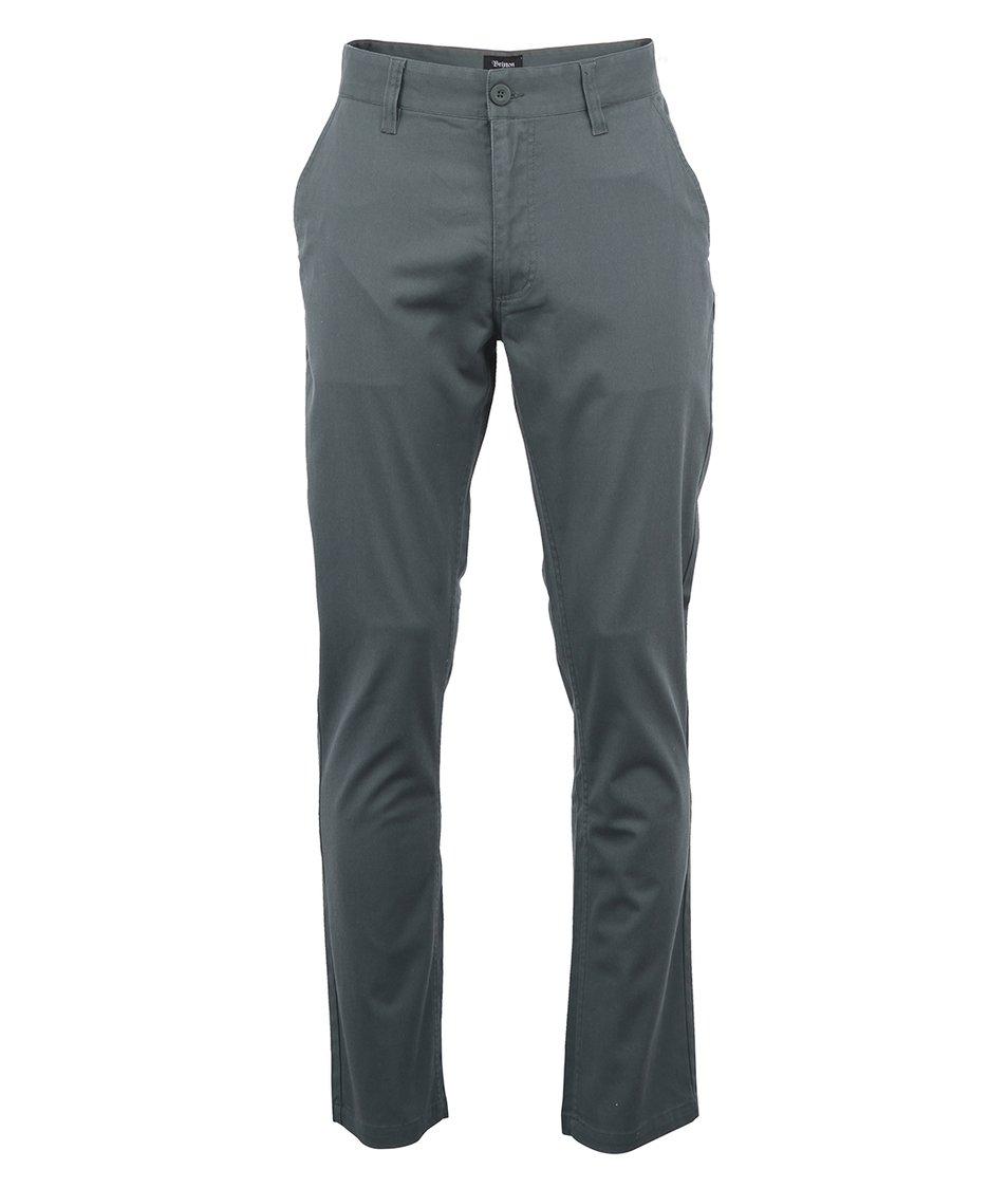 Šedozelené pánské kalhoty Brixton Toil II