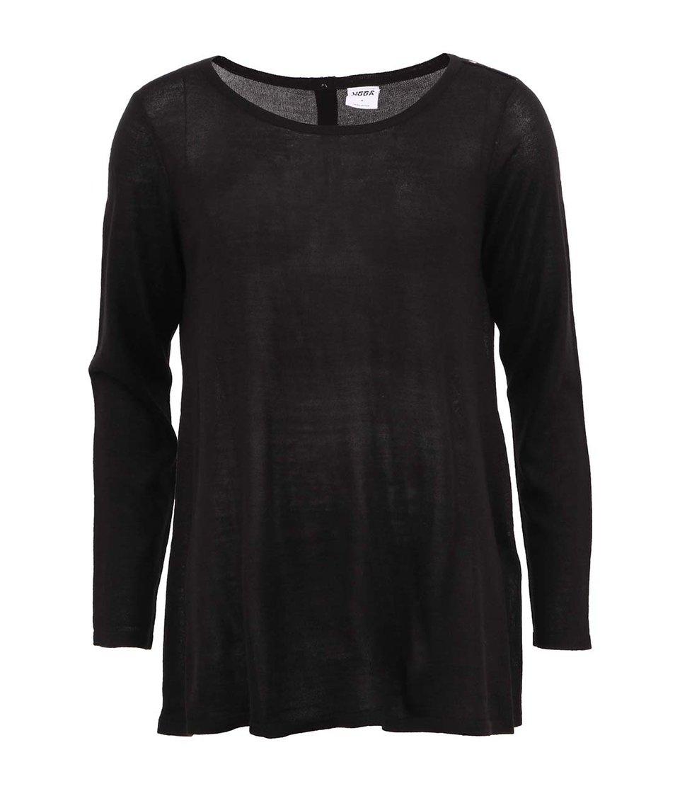 Černý volnější svetr Vero Moda Caprice