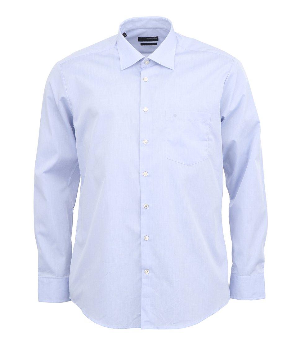 Šedomodrá košile Seidensticker Uno Slim Fit