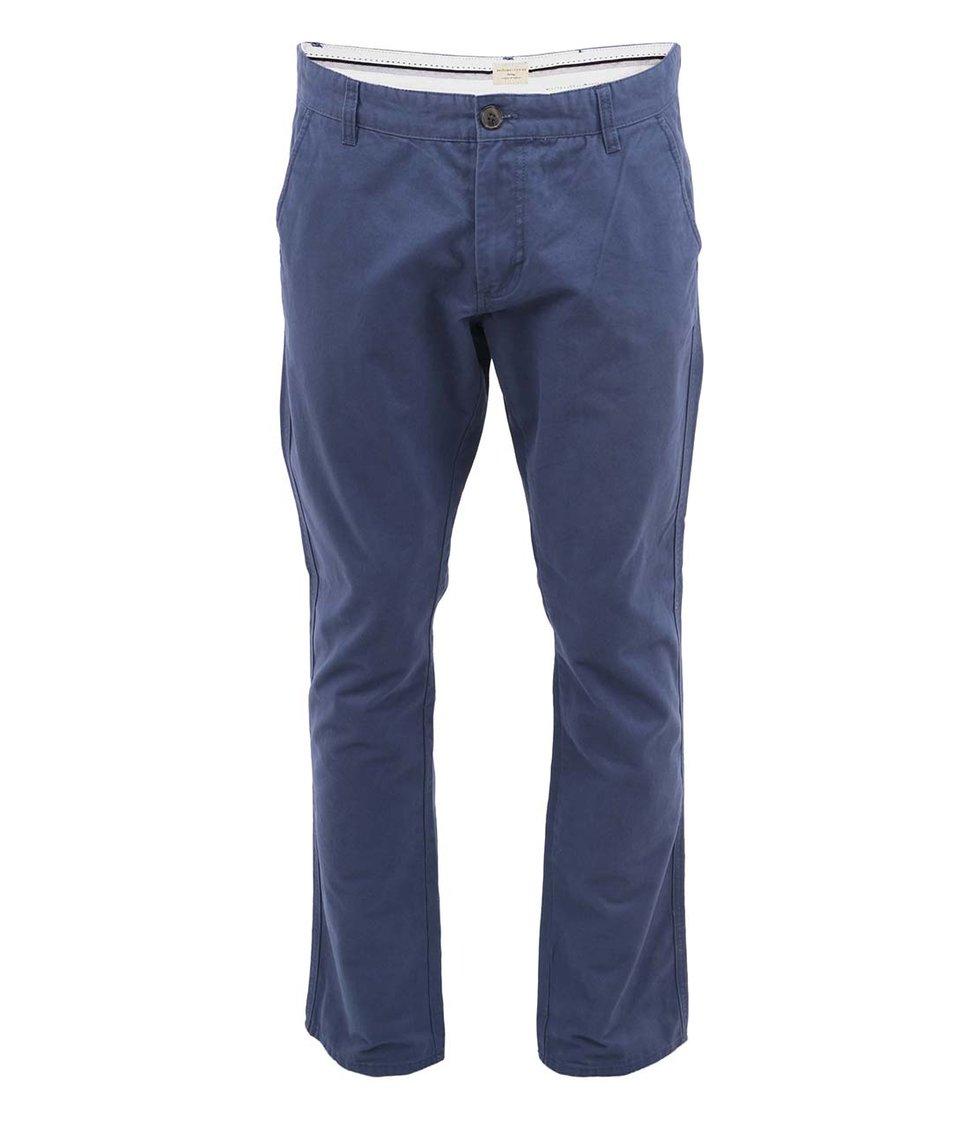Modré chino kalhoty Selected Three Paris